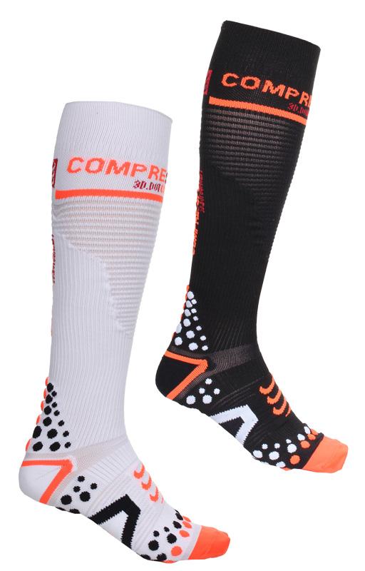 ARNOX Full Socks V2 kompresní ponožky - černé