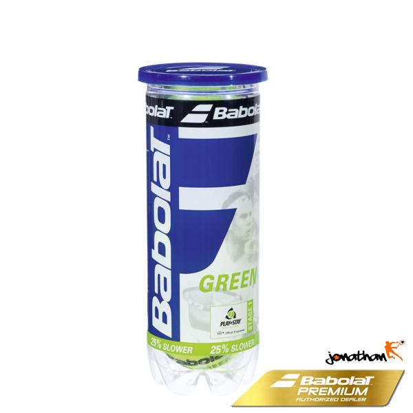 Tenisové míče BABOLAT GREEN 3 ks