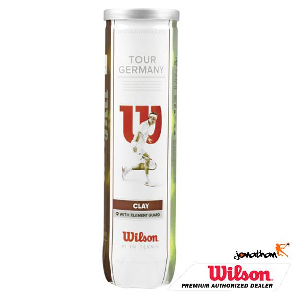 Tenisové míče WILSON TOUR GERMANY CLAY 4 ks
