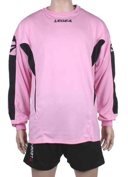 LEGEA Wembley brankářský komplet - růžová - černá