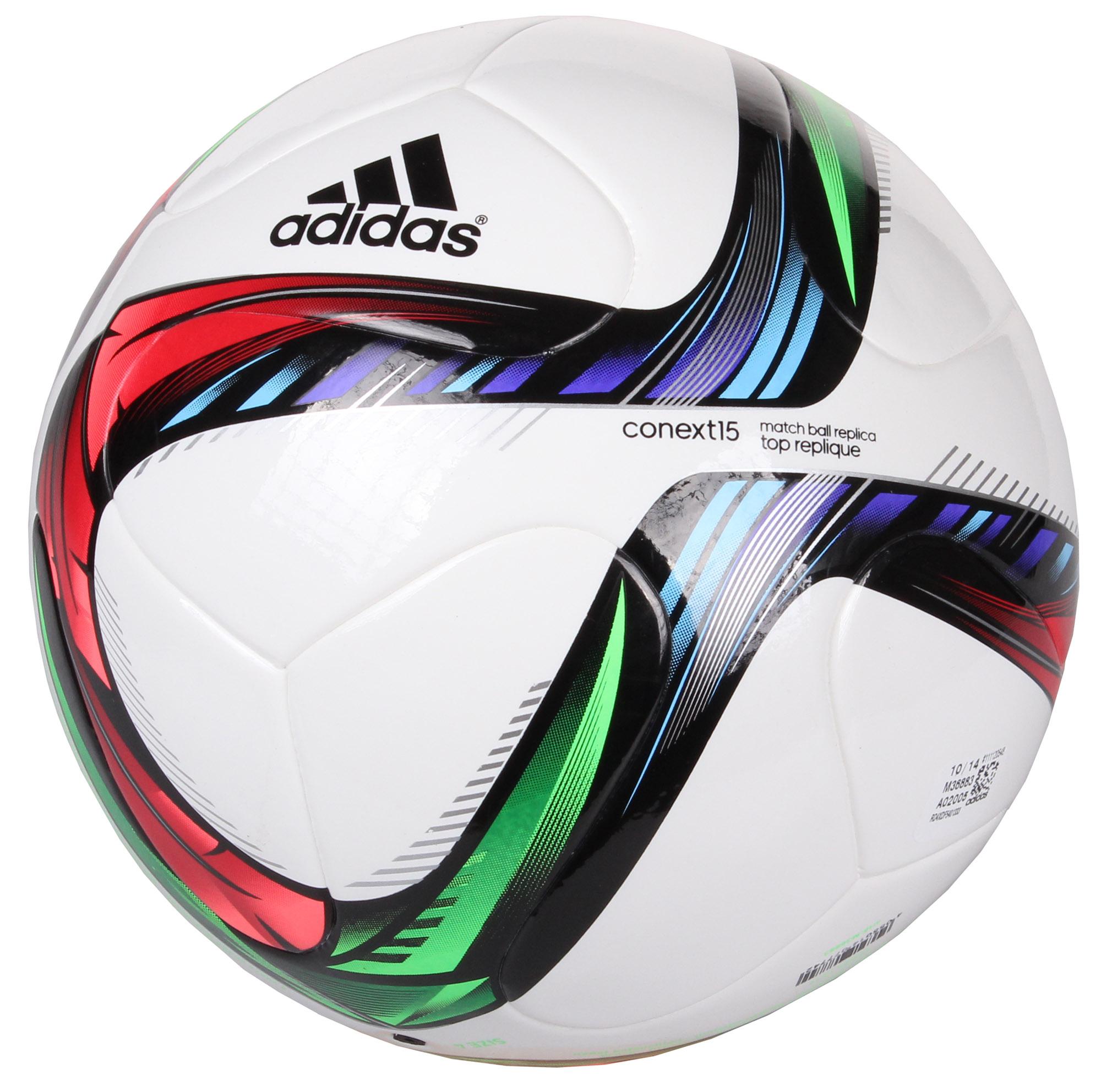 ADIDAS Conext15 Top Replique fotbalový míč 4