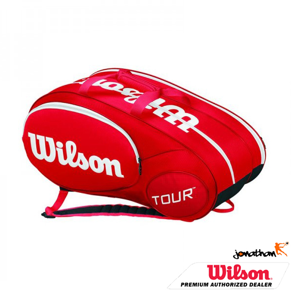 Taška WILSON MINI TOUR 6 RED 2015 WRZ642506