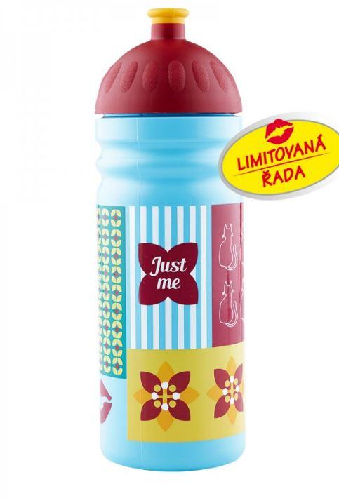 RB Zdravá láhev Retro limitovaná edice - modrá - 750 ml