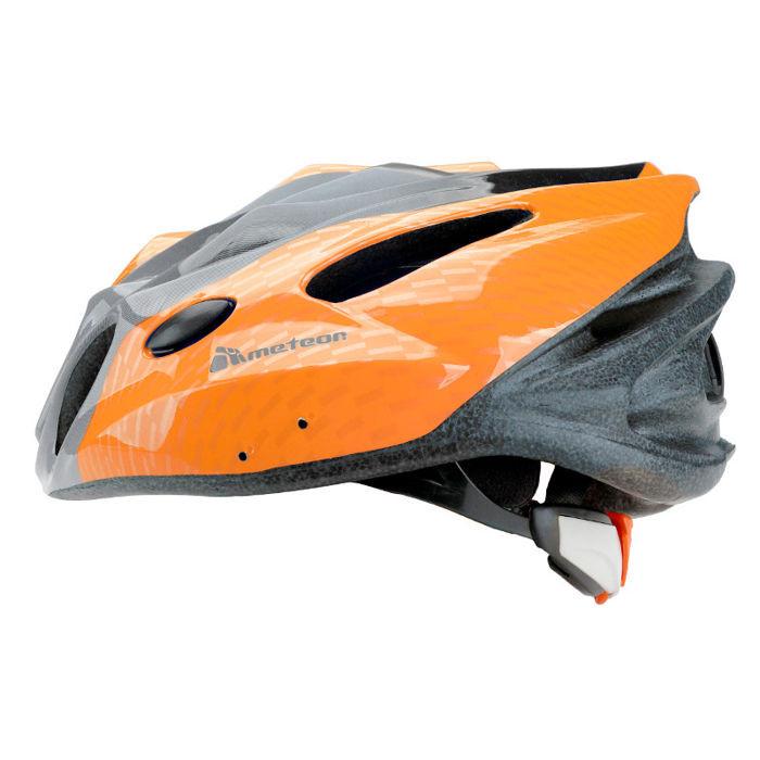 METEOR MV28 cyklistická helma - oranžová