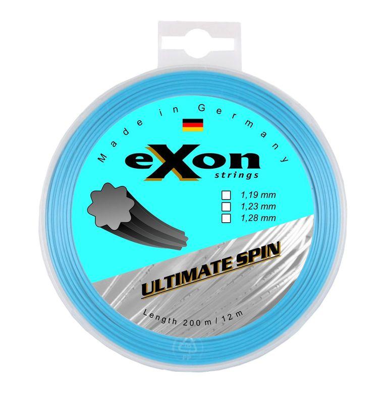 Tenisový výplet EXON ULTIMATE SPIN BLUE 12 m