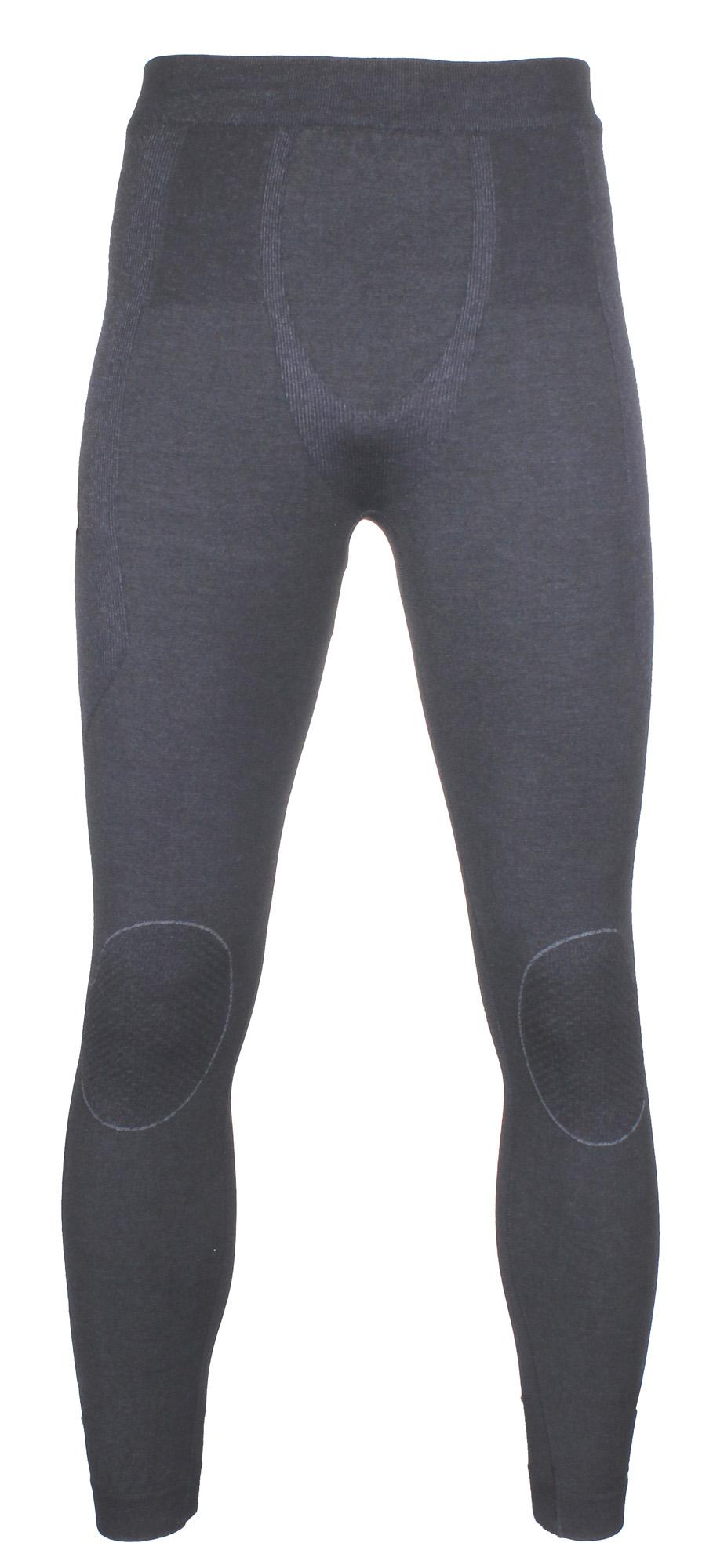 BRUBECK Powder Merino pánské spodky - černá
