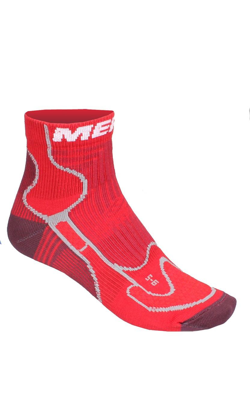 MERCO Ponožky Iron man - červené