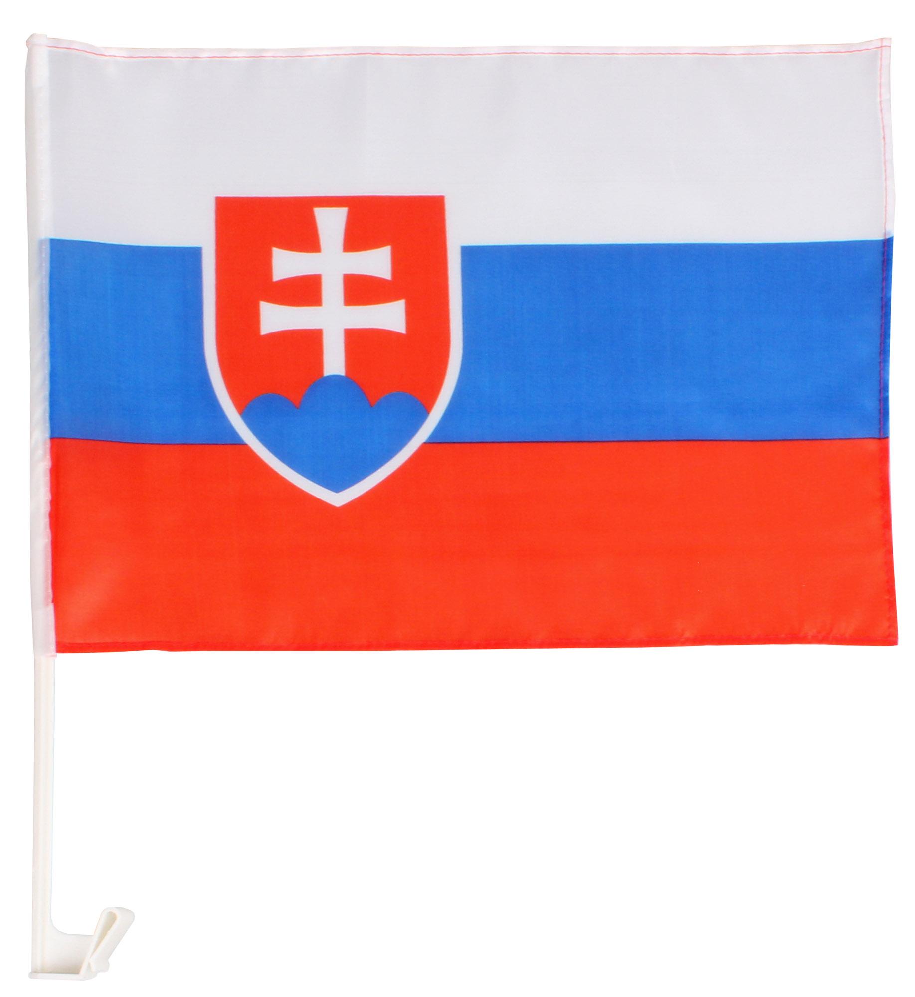 MERCO vlajka na okno auta Slovenská republika