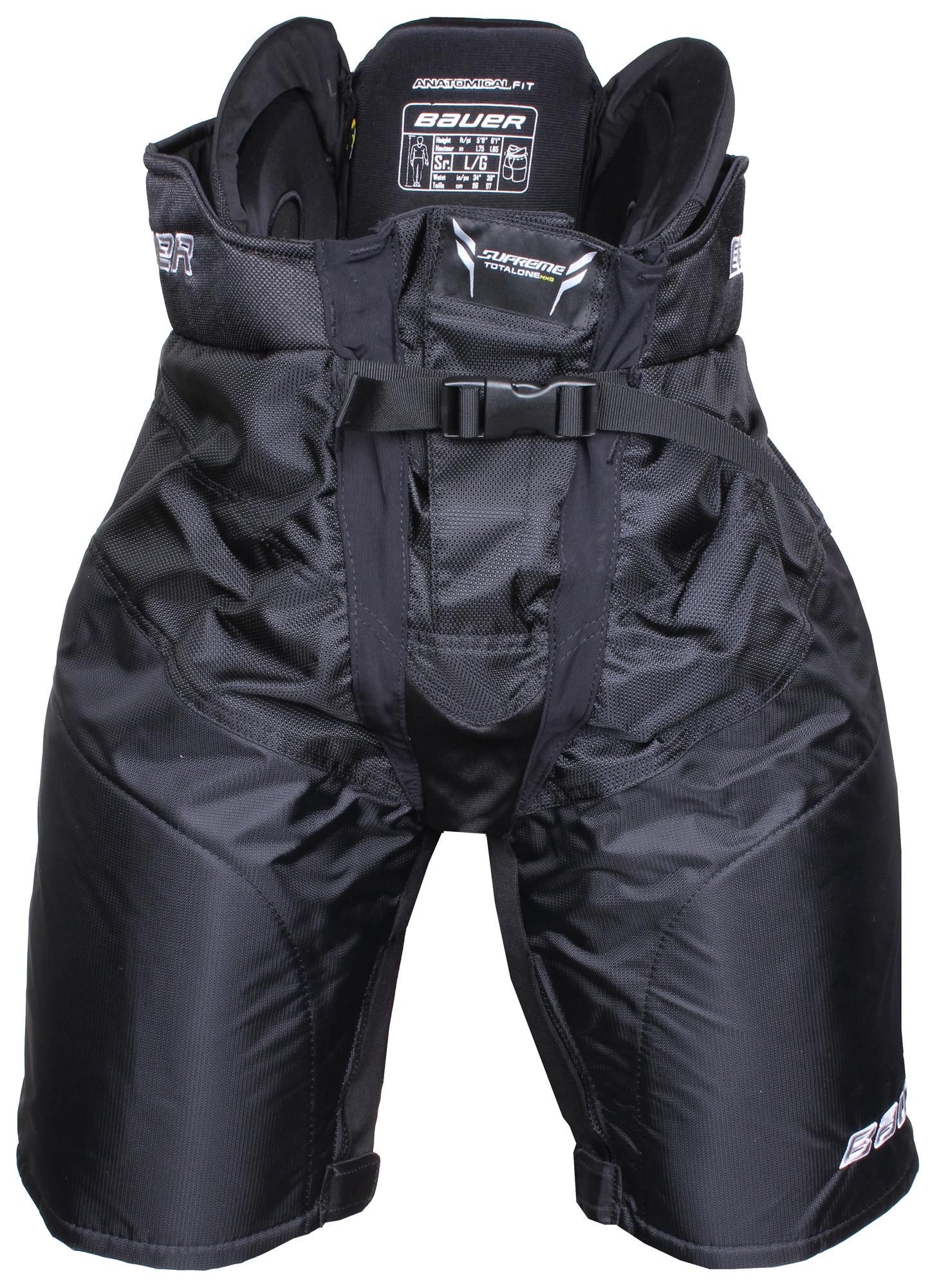 BAUER kalhoty Total One NXG, SR hokejové - černá