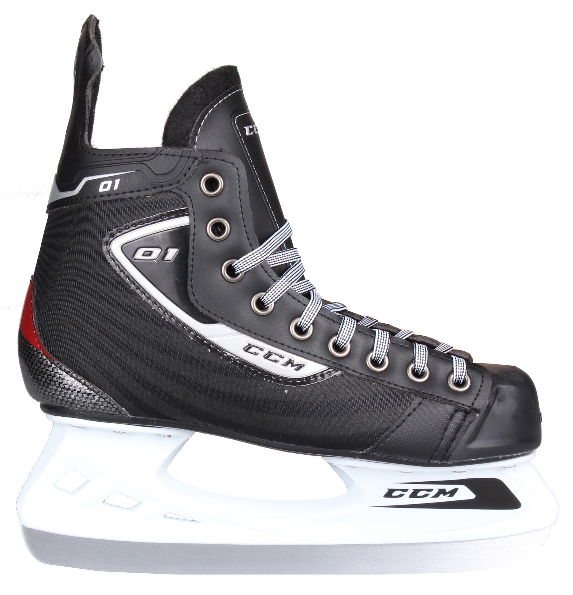 CCM U+ 01 SR hokejové brusle