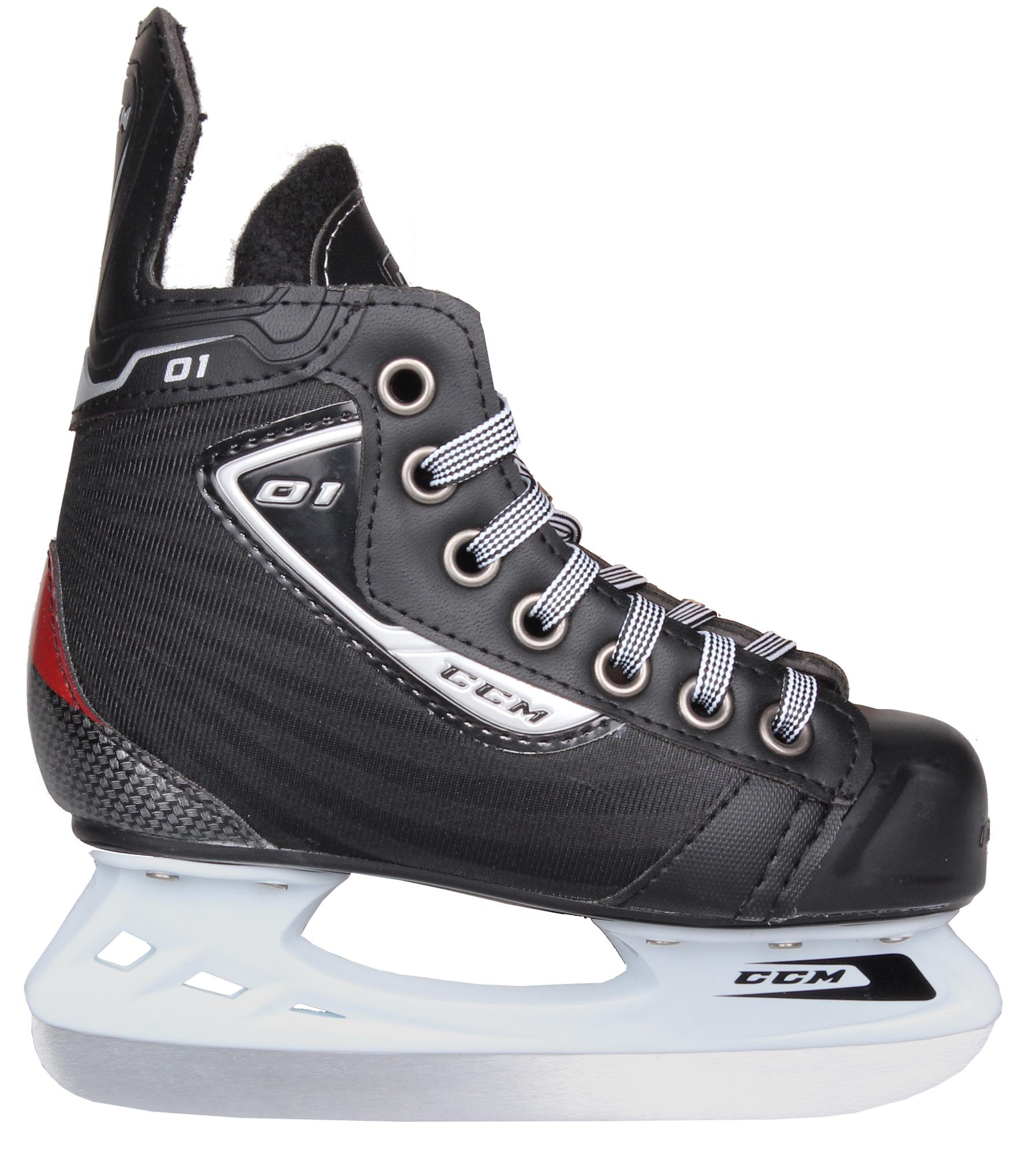 CCM U+ 01 JR hokejové brusle