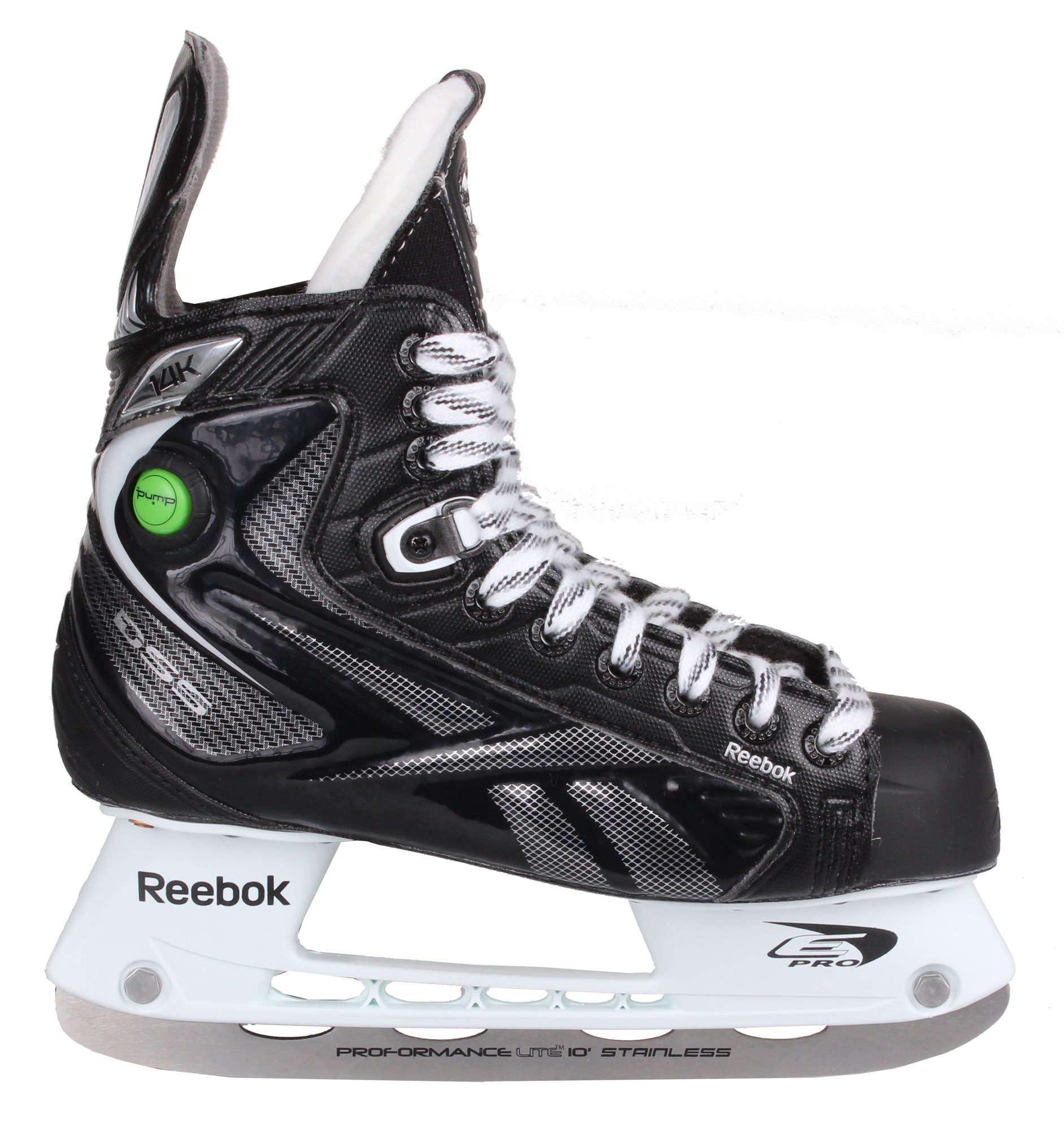 REEBOK 14K Pump, JR hokejové brusle, šíře D