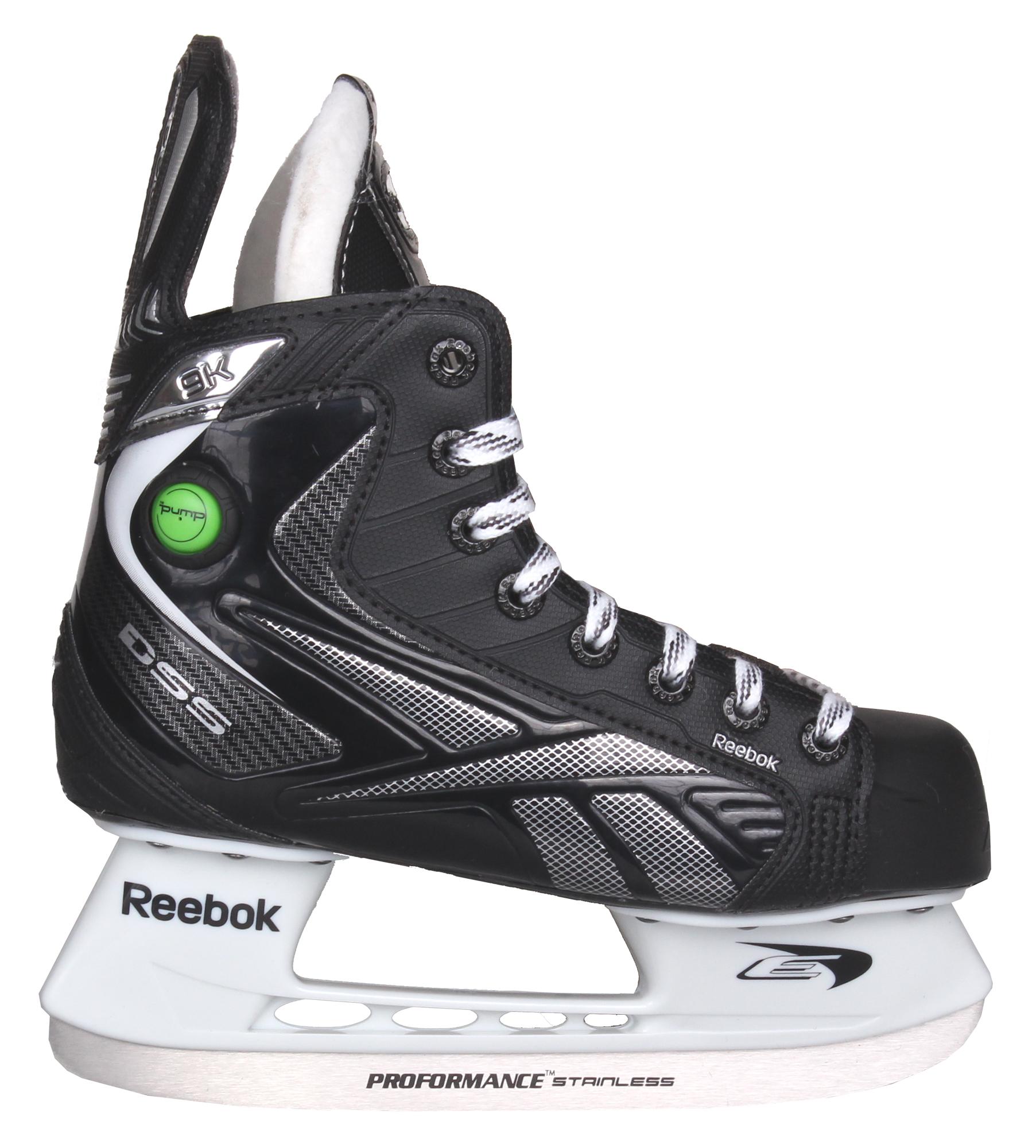 REEBOK RBK 9K Pump, JR hokejové brusle, šíře D