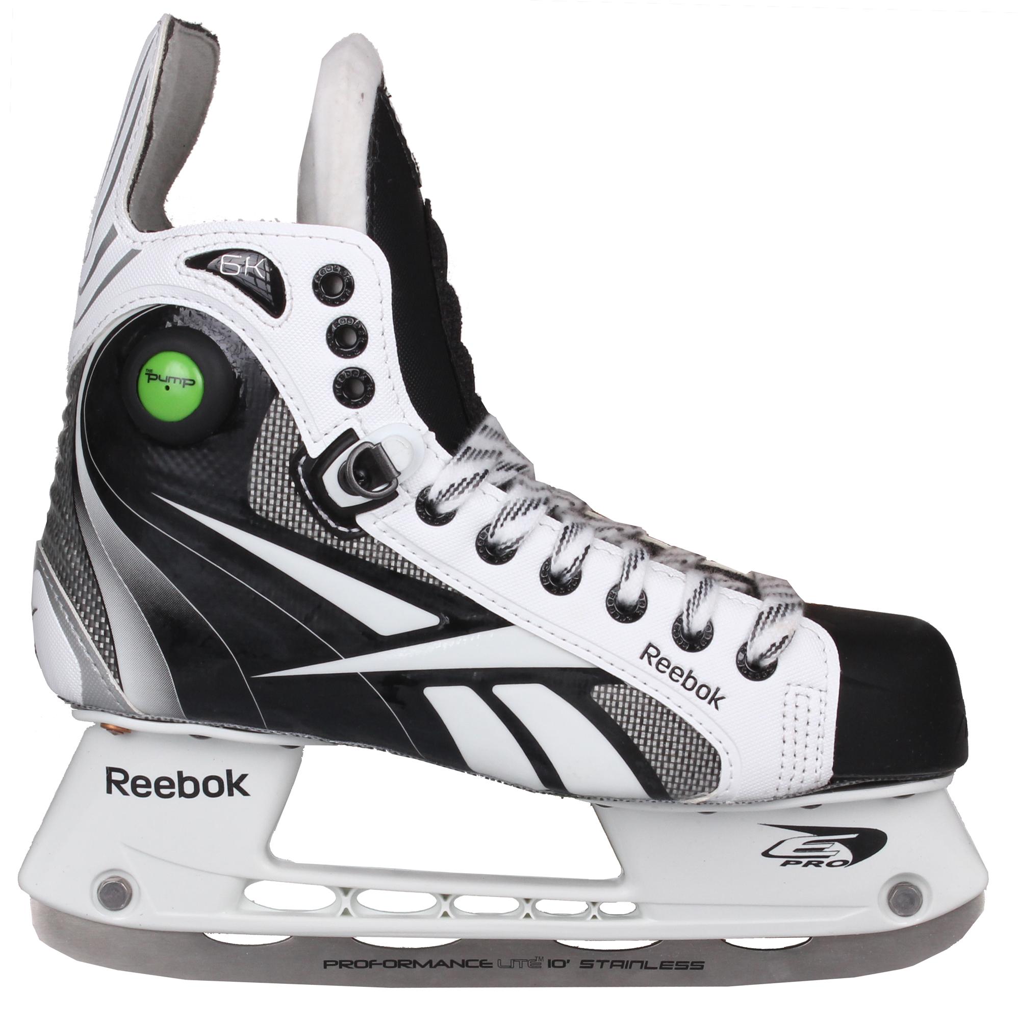 REEBOK RBK 6K Pump, JR hokejové brusle, šíře D