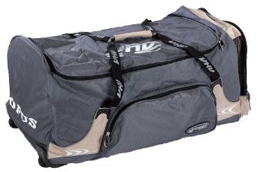 OPUS 3853 hokejová taška na kolečkách - junior - béžová