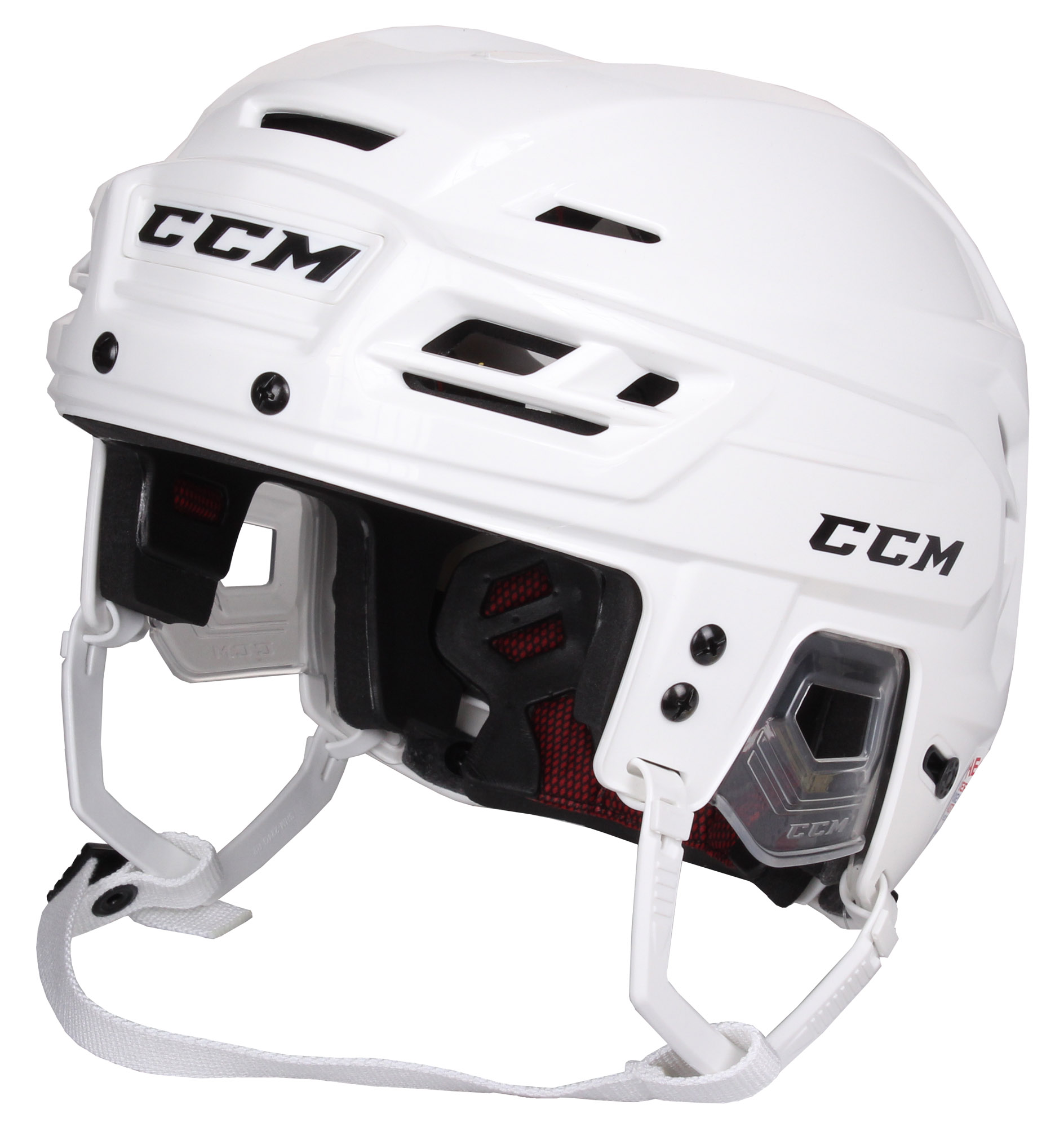 CCM Resistance 300 hokejová helma - bílá
