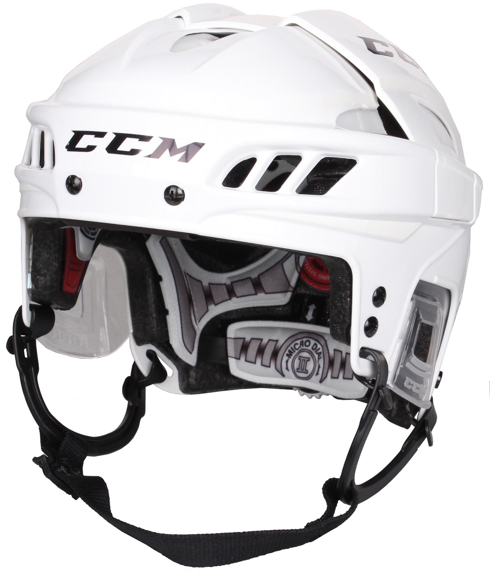 CCM FitLite hokejová helma - bílá
