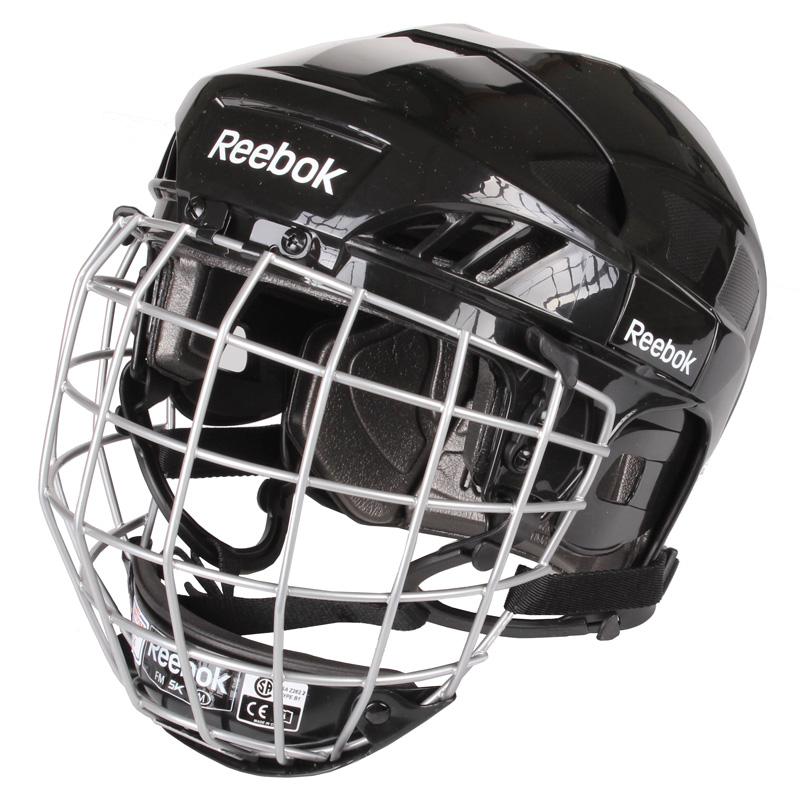 REEBOK 3K Combo, 2013 hokejová helma s mřížkou - černá
