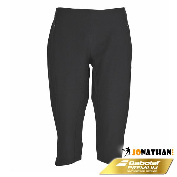 Kalhoty BABOLAT 3/4 PANT WOMEN PERFORMANCE BLACK