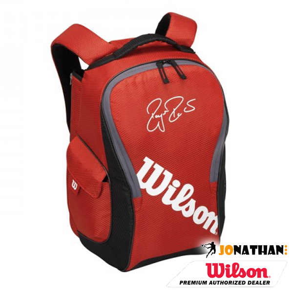 Batoh WILSON FEDERER TEAM III BACKPACK RED 2016