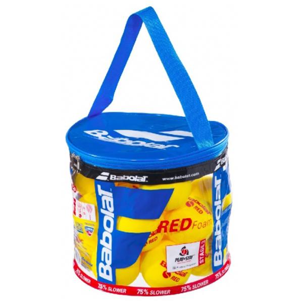 Tenisové míče BABOLAT RED FOAM 24 ks