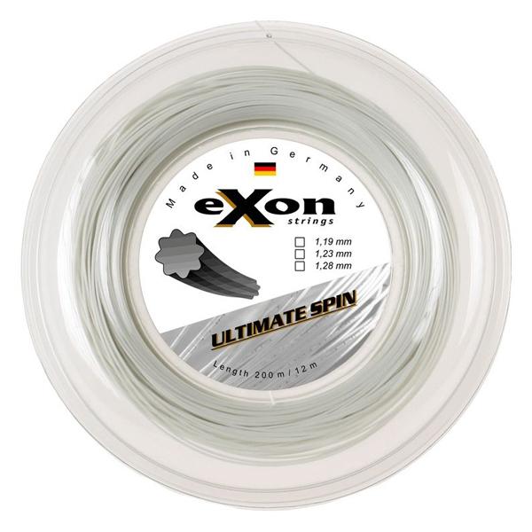 Tenisový výplet EXON ULTIMATE SPIN WHITE 200 m