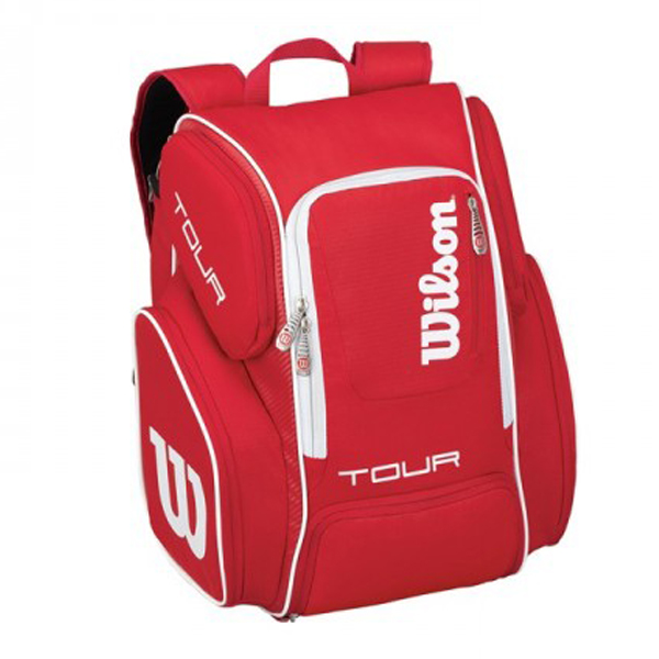 WILSON TOUR V BACKPACK LARGE RED 2016