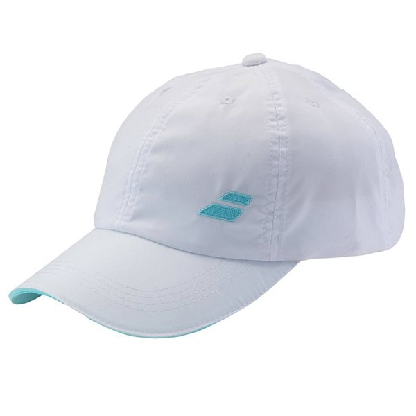 Kšiltovka BABOLAT BASIC LOGO CAP JUNIOR WHITE / BLUE