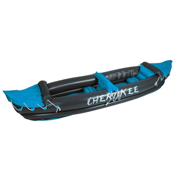 WAIMEA nafukovací kanoe Cherokee pro 2 osoby - antracitová