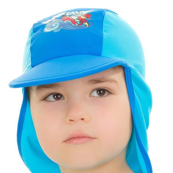 AQUA SPEED Surf Club čepice s UV ochranou - modrá