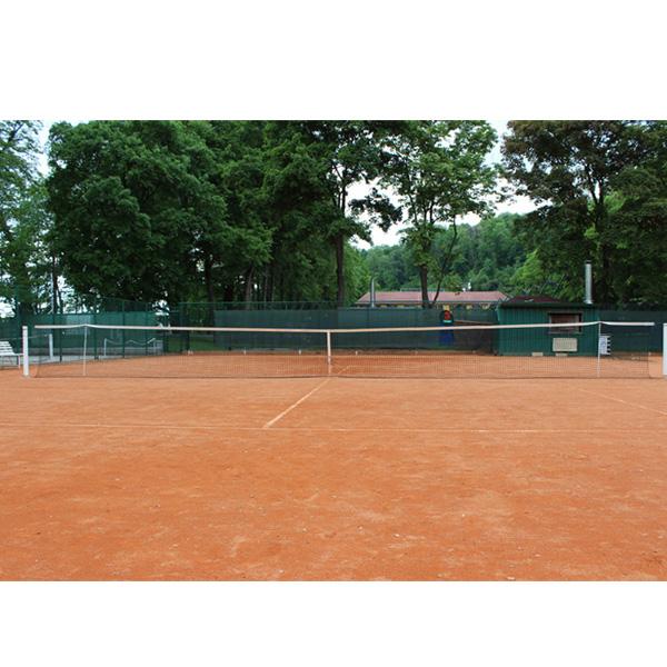 MERCO Tenis Standart zdvojená tenisová síť lanko