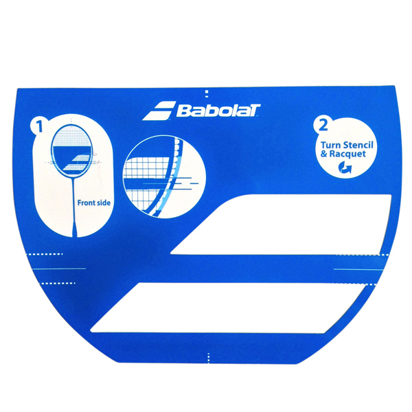 Šablona na badmintonovou raketu BABOLAT