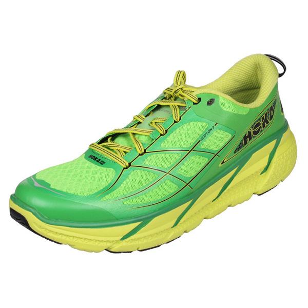 HOKA ONE ONE CLIFTON 2 pánská běžecká obuv - zelená
