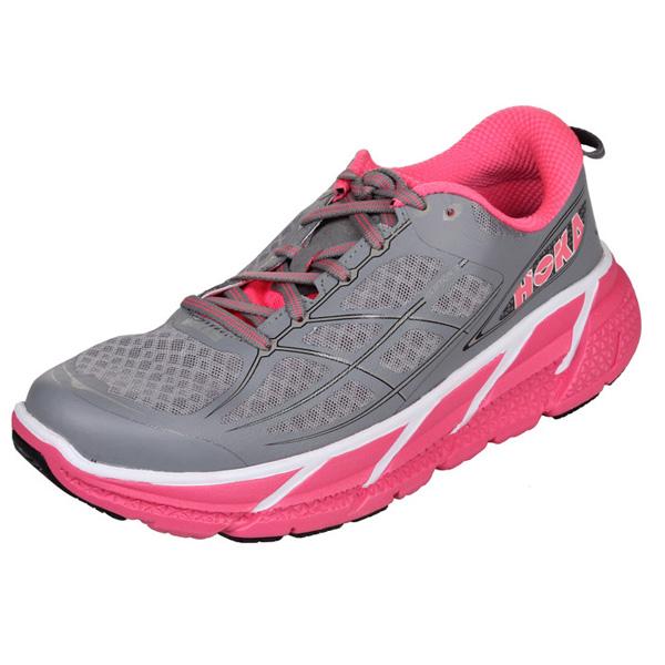 HOKA ONE ONE CLIFTON 2 W dámská běžecká obuv - šedá