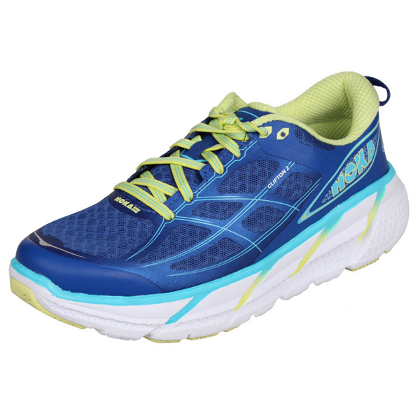 HOKA ONE ONE CLIFTON 2 W dámská běžecká obuv - modrá
