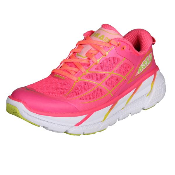 HOKA ONE ONE CLIFTON 2 W dámská běžecká obuv - růžová