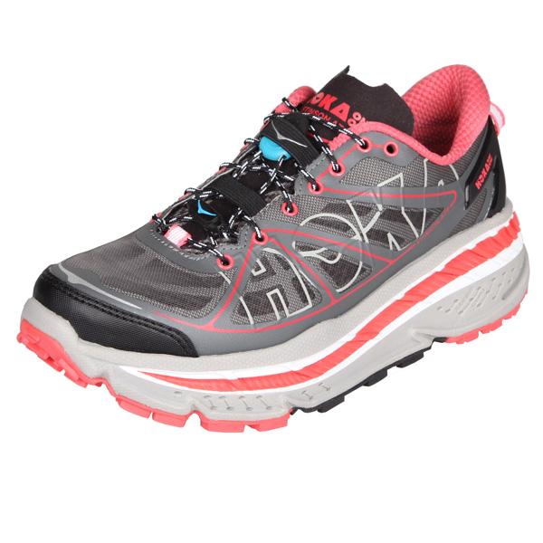 HOKA ONE ONE STINSON ATR W dámská běžecká obuv - šedá-červená