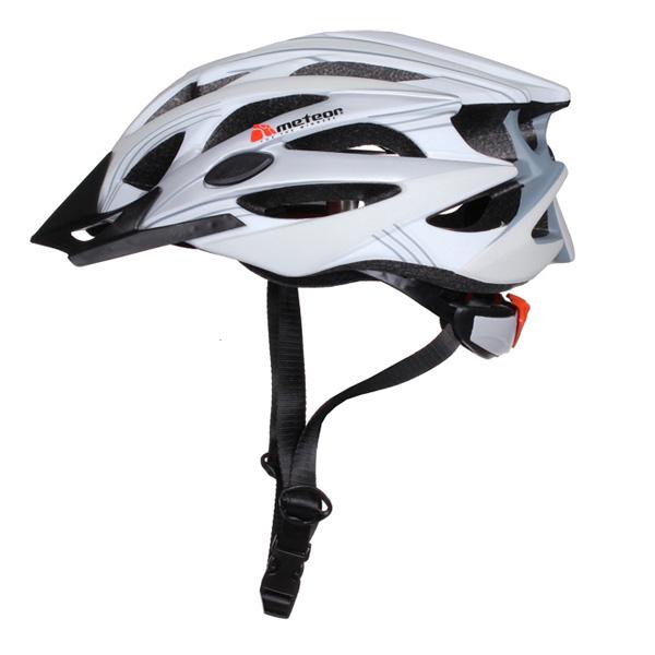 METEOR MV29 cyklistická helma - bílá
