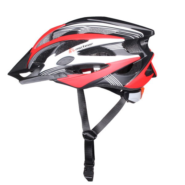 METEOR MV29 cyklistická helma - červená