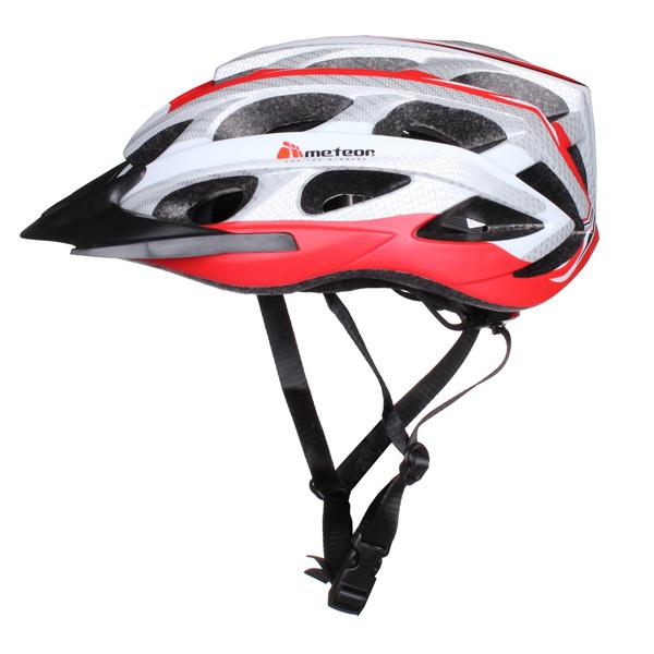 METEOR HB23 cyklistická helma - červená