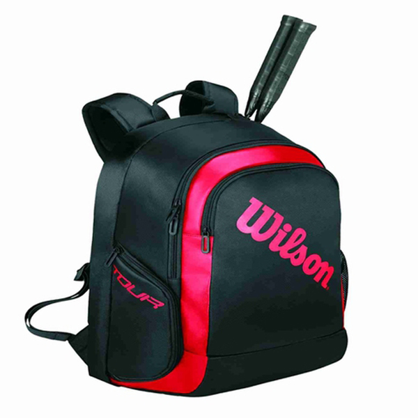 Batoh WILSON BACKPACK 2 BLACK RED