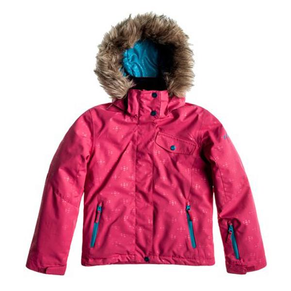 Bunda zimní ROXY JET SKI BRIGHT ROSE WTTSJ054
