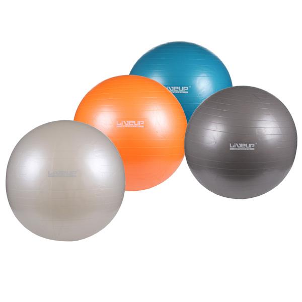 LIVEUP gymball Anti-Burst gymnastický míč 75 cm - šedá