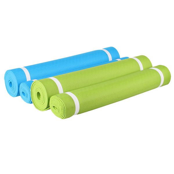 MERCO Karimatka Yoga TPE 173x61cm - zelená