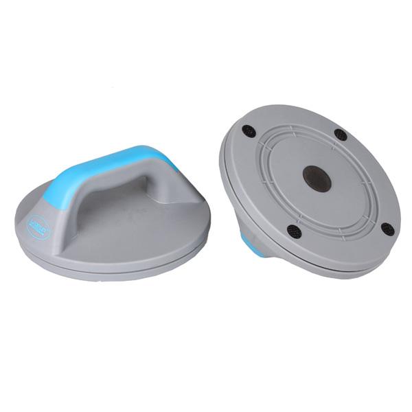 LIVEUP Opěrka na kliky plastová - modrá