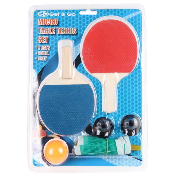 GETGO Micro Table Tennis dětská sada na stolní tenis