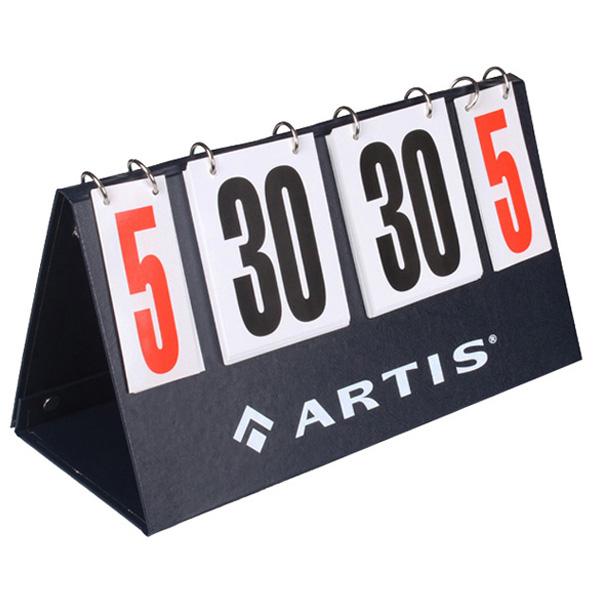 ARTIS ukazatel skóre 0-30 bodů 0-5 setů