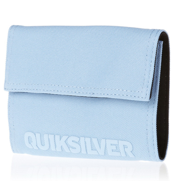Peněženka QUIKSILVER WAVE STATION A LIGHT BLUE