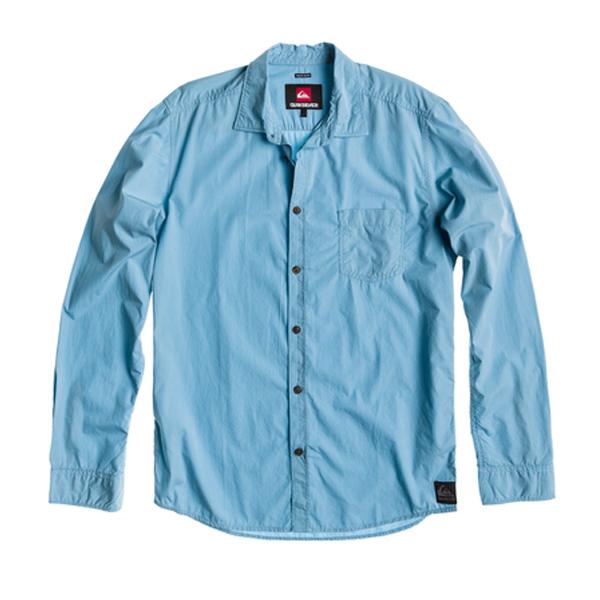 Košile QUIKSILVER CRESTON STRIPES NEON BLUE KTMSH372