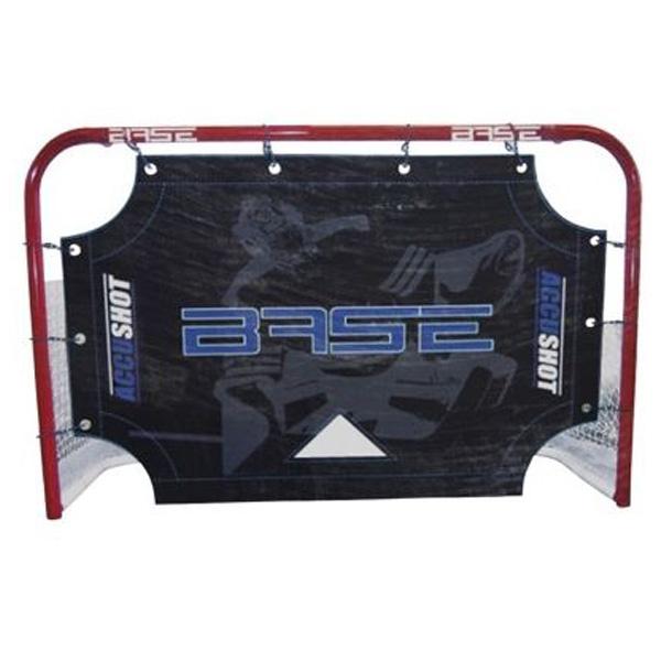 BASE Accushot 72, střelecká plachta s otvory do hokejové branky